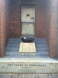 Flame of Democracy
