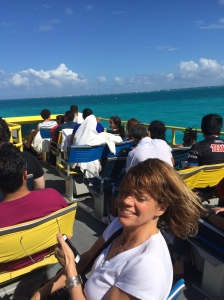 Ferry Ride to Isla Mujeres