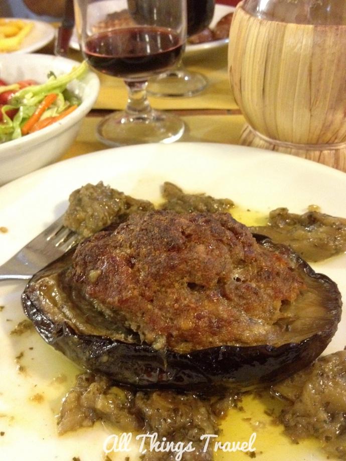 Stuffed Eggplant at Trattoria da Giorgio
