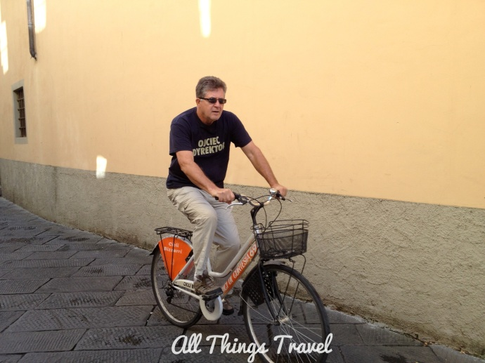 Touring Lucca