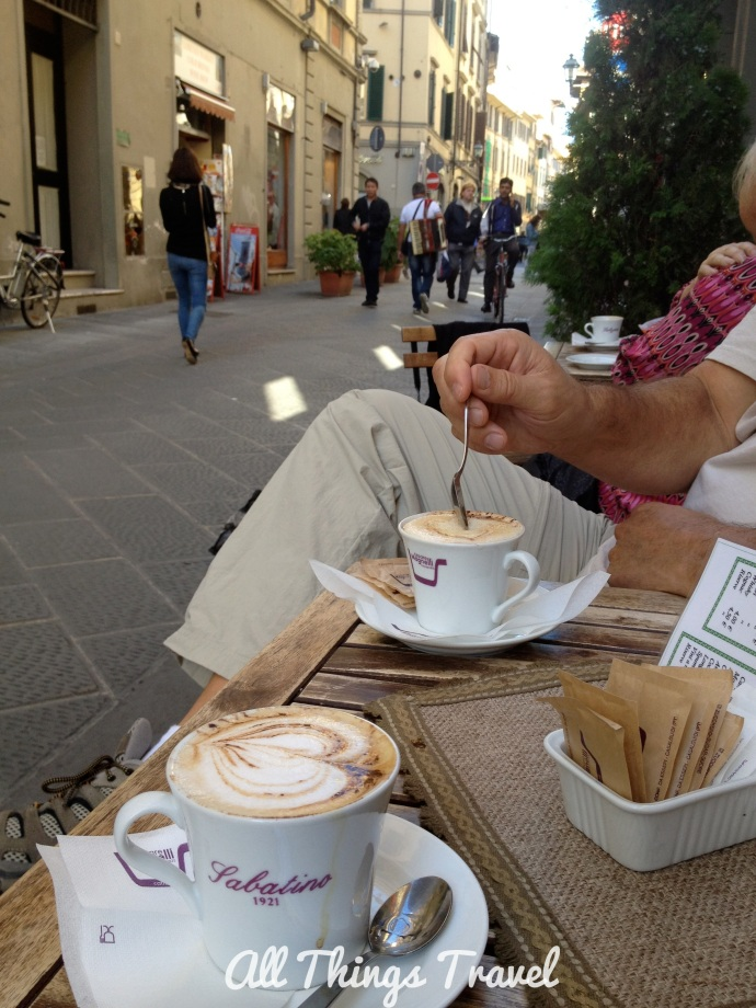 Cafe on our street, Via Faenza