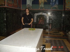 Michael with Karadorde's Tomb