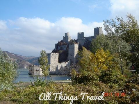 Golubac Fortress on the Danube River