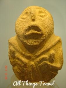 Lepenski Vir sculpture