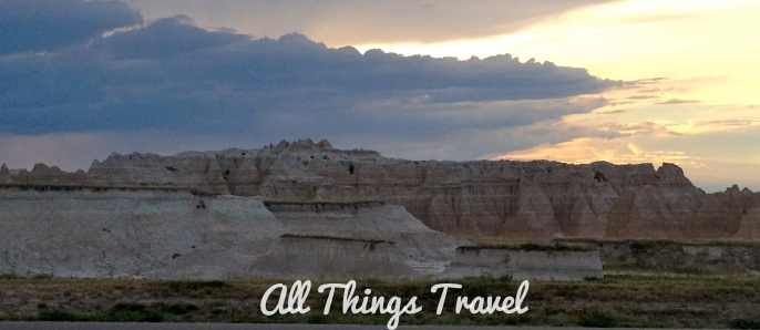 Storm brewing over the Badlands