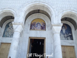 Entrance to St. Sava