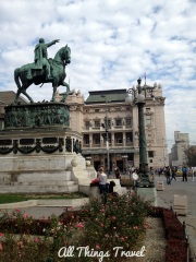 Statue of Prince Mihailo (Michael) in Republic Square