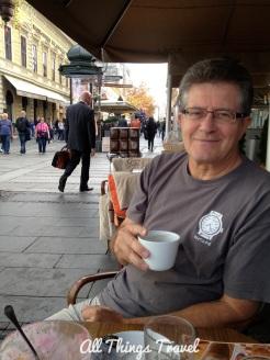 Coffee on Knez Mihailova St.