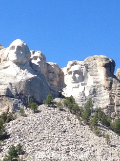 Mt.Rushmore from Presidential Trail