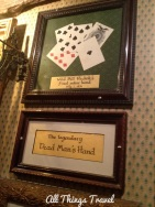 Black aces and eights with the nine of diamonds held by Wild Bill Hickok