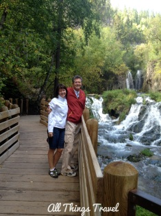 Roughlock Falls along Spearfish Canyon Scenic Byway