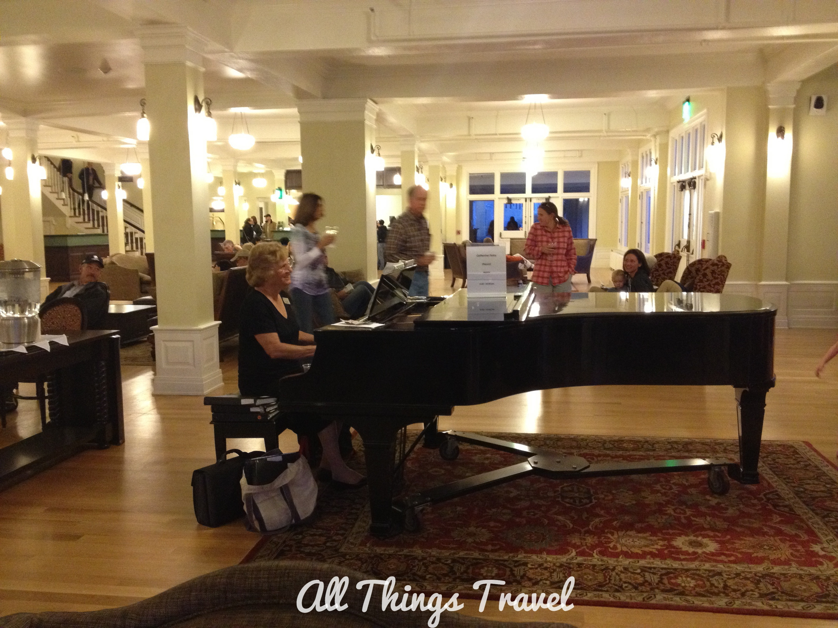 Lobby And Sun Room Of Lake Yellowstone Hotel Part 88