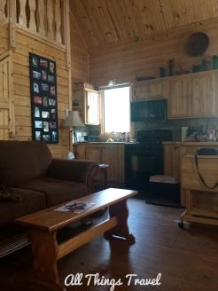Inside Lu's cabin