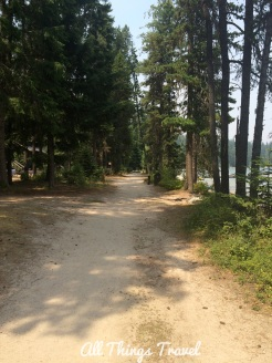 Trail #48 on Priest Lake