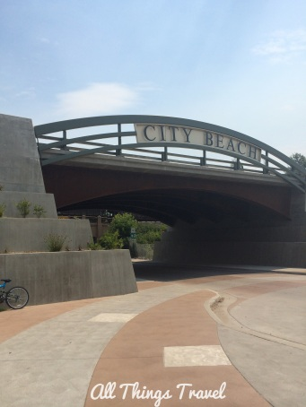Underpass to City Beach, Sandpoint