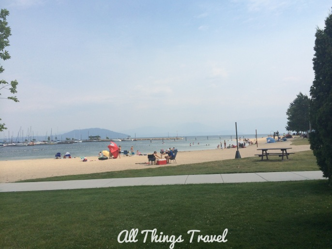 City Beach at Sandpoint, Idaho