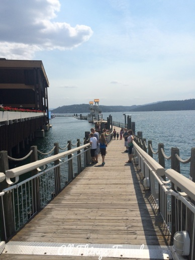 Longest floating boardwalk, Coeur d'Alene, ID