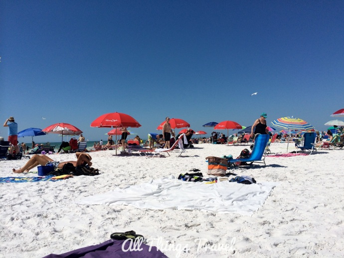 Siesta Beach, March, 2014