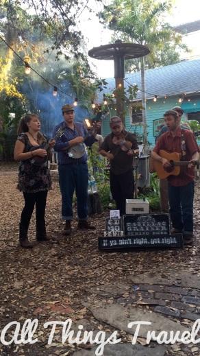 Cadillac Grainer String Band at Owen's Fish Camp