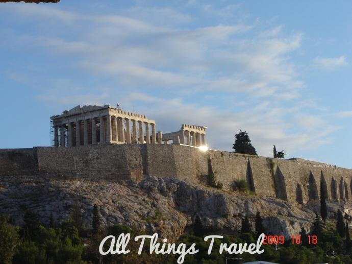 Parthenon Atop the Acropolis