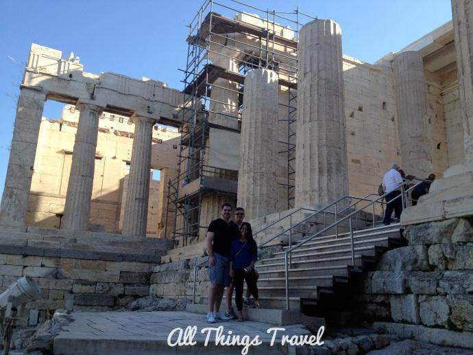 Propylon, Entrance to Acropolis