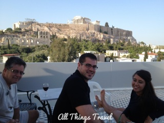 Rooftop Garden at Acropolis View Hotel