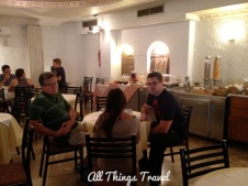 Breakfast Room at Acropolis View Hotel