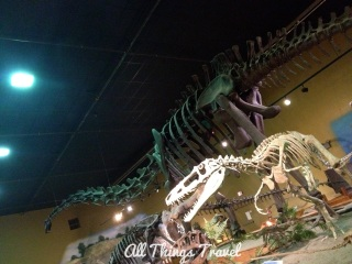 Stan, the T-Rex, at Wyoming Dinosaur Center