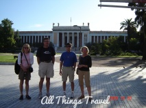 Family and Friends at National Archeological Museum in Athens
