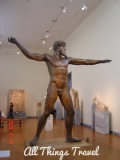 Sculpture of Zeus or Poseidon in National Archeological Museum, Athens