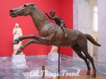 Artemision Jockey, ca. 140 BC. National Archeological Museum, Athens