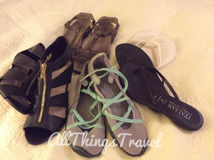 5 pairs shoes