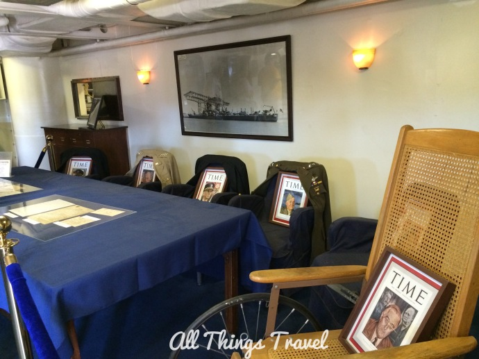 FDR's Rooms on the Iowa