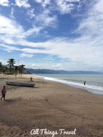 Beach at Puerto Vallarta