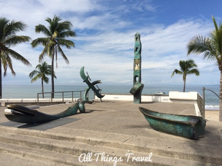 Sculptures along the Malecon