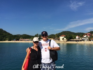 Going ashore at Huatulco