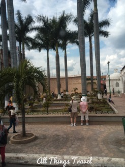 Hidalgo Park, main square in Tapachula