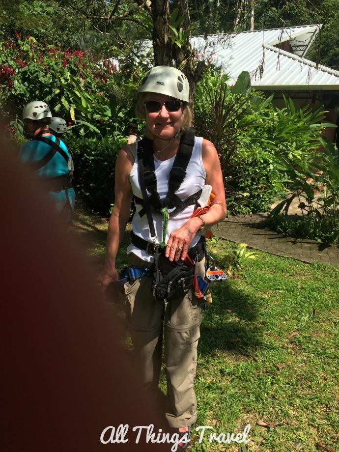 Zip lining, Costa Rica, 2014