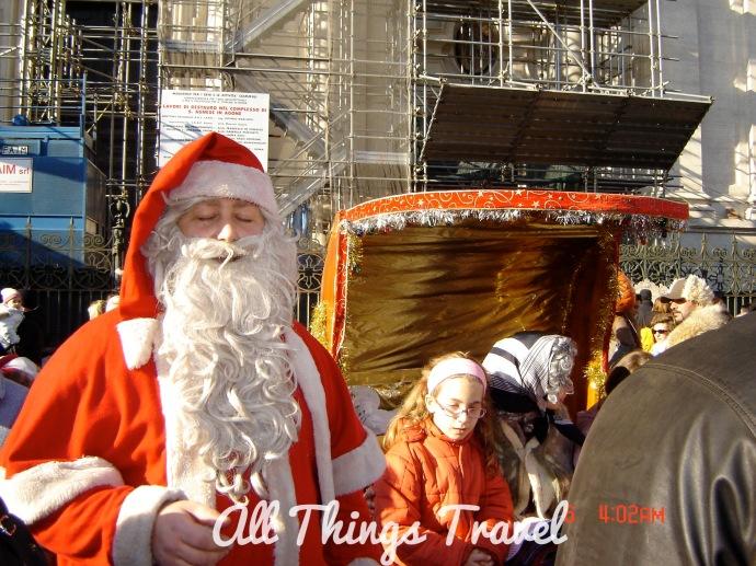 Babbo Natale, Piazza Navona, Rome