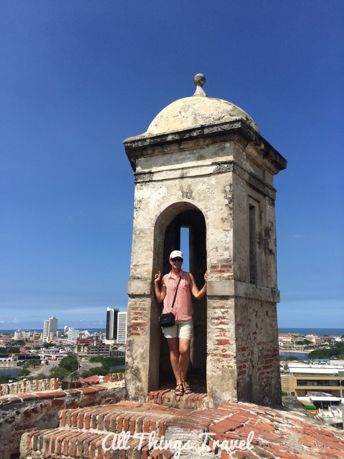 City View from Castillo San Felipe de Barajas
