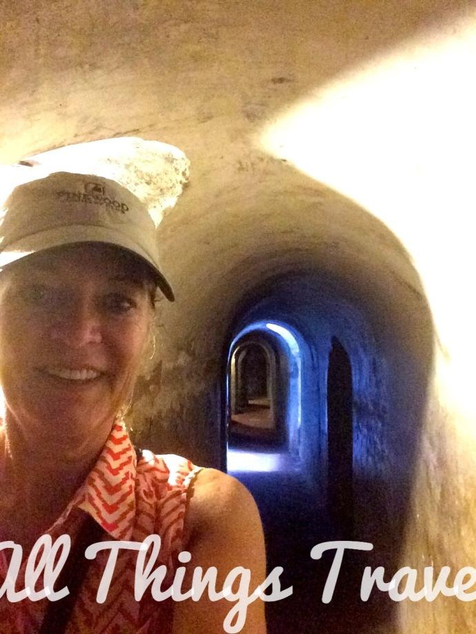 Tunnels in Castillo San Felipe de Barajas