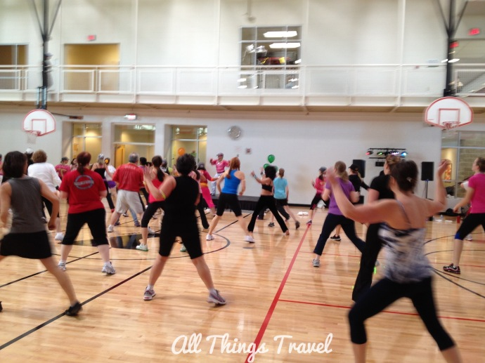 Zumba at O'fallon Family YMCA, O'Fallon, MO