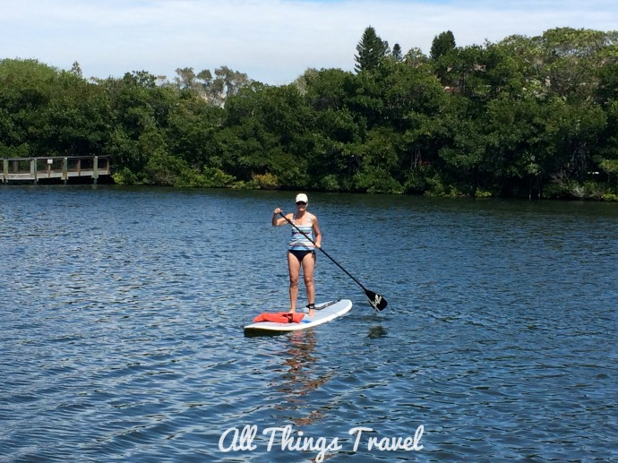 Paddle boarding in Florida
