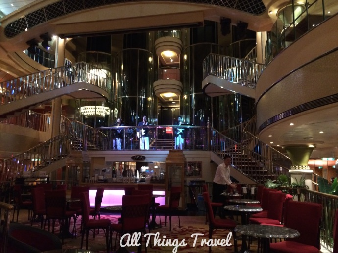 The Atrium on the Norwegian Star