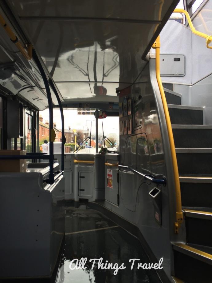 Inside the Hop On Hop Off Bus Dublin