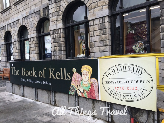 Book of Kells Exhibit at Trinity College, Dublin