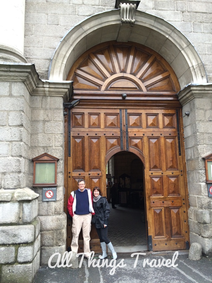 The Front Gate at Trinity College