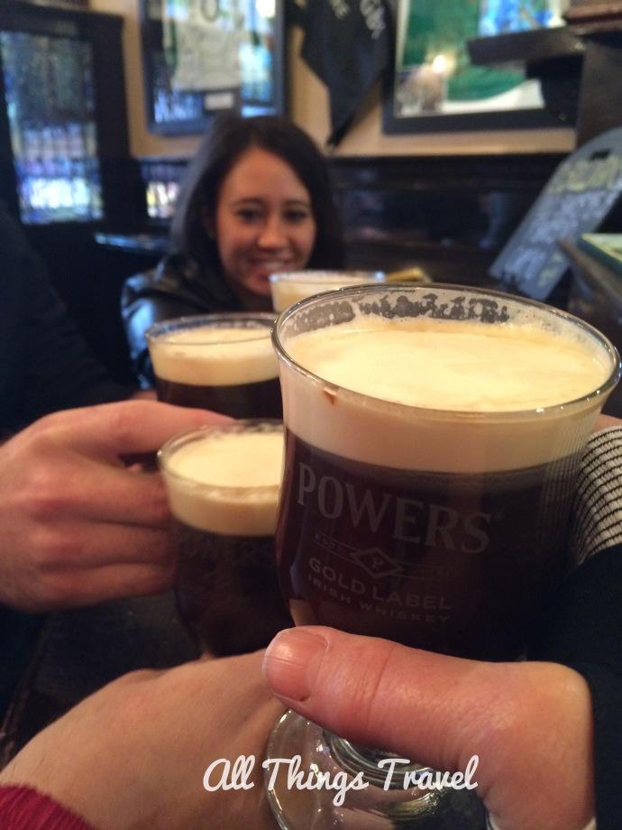 Irish Coffee at O'Sullivan's Pub