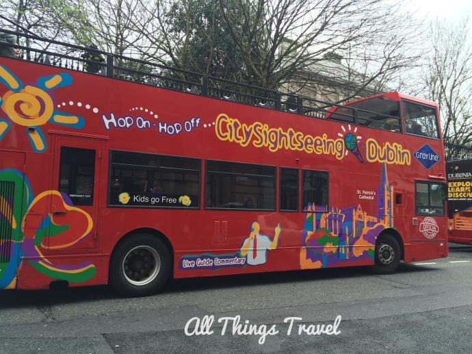 Hop On Hop Off Bus Dublin