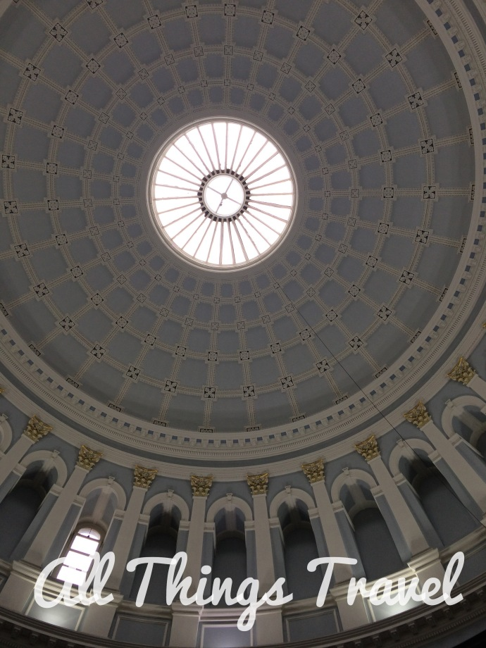Rotunda Ceiling in the National Museum--Archeology, Ireland